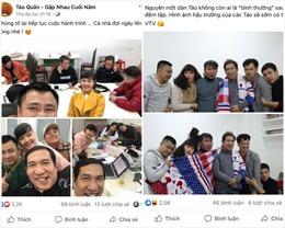 Nhiều hình ảnh hậu trường tập luyện Táo quân thú vị được chia sẻ trên mạng xã hội