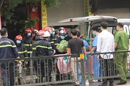 UBND quận Đống Đa thông tin về vụ cháy tại phố Tôn Đức Thắng làm 4 người tử vong
