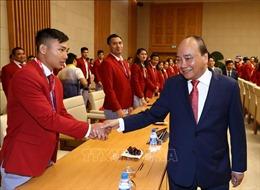 Thủ tướng Nguyễn Xuân Phúc gặp mặt Đoàn thể thao Việt Nam tham dự ASIAD