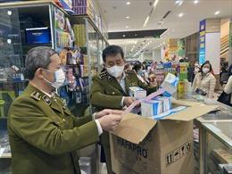 Xử phạt cơ sở kinh doanh khẩu trang y tế không niêm yết giá tại Hà Nội