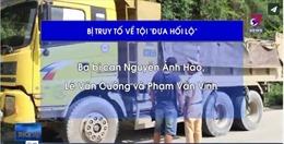 Truy tố nhóm thanh tra giao thông 'bảo kê' xe tải ở Hà Nội