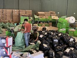 Hà Nội liên tiếp thu giữ số lượng lớn hàng hóa không rõ nguồn gốc
