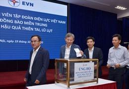 Cán bộ, nhân viên tập đoàn EVN ủng hộ đồng bào miền Trung hơn 150 triệu đồng