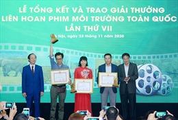 Trao giải liên hoan phim môi trường toàn quốc 2020