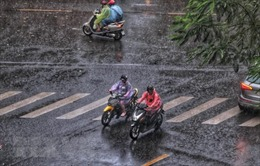 Miền Bắc có mưa, trời lạnh, miền Nam nắng nóng ngày cuối tuần