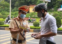 Khi nào cảnh sát giao thông được phép thu tiền phạt tại chỗ?