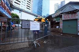 Hà Nội tạm dừng hoạt động chợ Nhân Chính vì có bệnh nhân mắc COVID-19 tới mua đồ