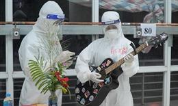 Tết Trung thu ấm áp ở Bệnh viện dã chiến thu dung và điều trị số 1 tại TP Hồ Chí Minh