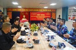 Cảnh sát biển Việt Nam và Trung Quốc bắt đầu kiểm tra liên hợp nghề cá Vịnh Bắc Bộ