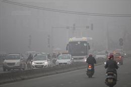 Hà Nội đang trong những ngày báo động đỏ về ô nhiễm không khí