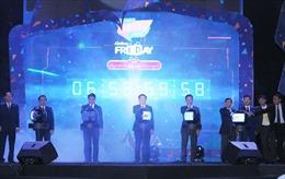 Khai mạc chuỗi sự kiện Mua sắm trực tuyến Online Friday bên Hồ Gươm