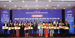 Công bố Top 100 doanh nghiệp đạt năng lực quản trị tài chính tốt nhất 2018