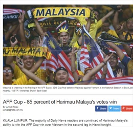 Báo Malaysia tự tin 'những chú hổ' sẽ 'cất tiếng gầm' ở Mỹ Đình