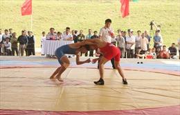 Hà Nội khai mạc Giải vô địch vật truyền thống