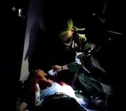 Thiếu úy công an bị đâm thủng phổi trong đêm khi giải quyết công việc