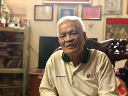 Nhà báo Vũ Đảo: 'Quên hết tuổi già lặng lẽ trôi'