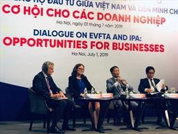 EVFTA không chỉ mở cửa thị trường hàng hóa