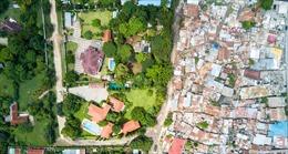 Bức tranh thực trạng phân hóa giàu nghèo tàn khốc nhìn từ trên cao