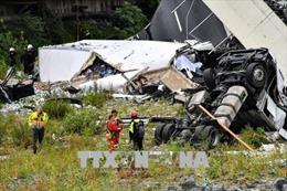 Chính phủ Italy tuyên bố về kế hoạch đặc biệt sau thảm họa sập cầu cạn