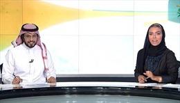 Nữ nhà báo xinh đẹp làm nên lịch sử tại Saudi Arabia
