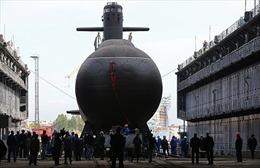Hải quân Nga hạ thủy tàu ngầm 'Bóng ma Tàng hình'