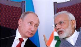 Mỹ-Trung theo dõi sát sao chuyến thăm Ấn Độ của Tổng thống Nga Putin