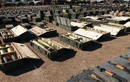 Syria trưng bằng chứng phiến quân bỏ lại vũ khí Mỹ ở Cao nguyên Golan