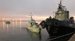 Tình báo Ukraine có mặt trên tàu chiến bị Nga bắt giữ