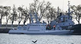 Nga công khai loạt vũ khí Ukraine trên ba tàu chiến bị bắt