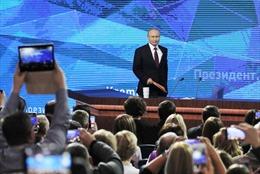 Toàn cảnh cuộc họp báo thường niên 2018 của Tổng thống Nga