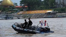 Bốn nước khởi động tuần tra chung lần thứ 80 trên sông Mekong