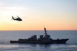 Tàu Hải quân Mỹ đến Biển Đông giữa đàm phán chiến tranh thương mại với Trung Quốc