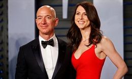 Ly hôn vợ, ông chủ Amazon sẽ mất ngôi vị giàu nhất thế giới