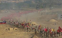 Cận cảnh cuộc tập trận 'quan trọng nhất trong lịch sử' của Venezuela