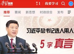 Cư dân mạng Trung Quốc 'phát sốt' với ứng dụng do chính phủ phát hành