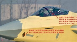 Lộ ảnh tiêm kích Trung Quốc sở hữu công nghệ 'độc quyền' trên chiến đấu cơ Mỹ
