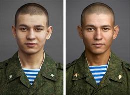 Cận cảnh thay đổi của các chàng trai Nga trước và sau nhập ngũ