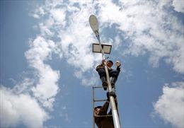 Triều Tiên khuyến kích người dân dùng pin năng lượng Mặt Trời