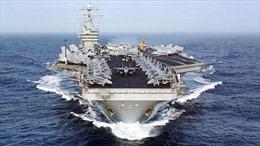 UAV Iran chụp cận cảnh tàu sân bay Mỹ rồi ung dung tẩu thoát