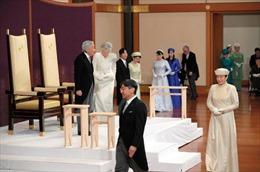 Những khoảnh khắc đáng nhớ trong lễ thoái vị của Nhật hoàng Akihito
