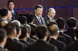 Chủ tịch Trung Quốc thăm Nga giữa lúc căng thẳng với Mỹ leo thang