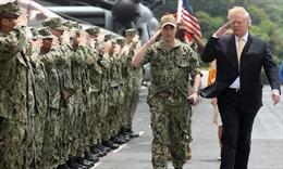 Tổng thống Trump đề nghị các nước trả tiền để Mỹ bảo vệ Eo biển Hormuz