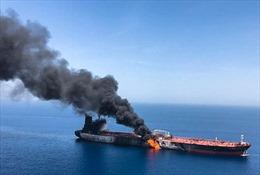 Đồng minh UAE không ủng hộ Mỹ cáo buộc Iran tấn công tàu chở dầu