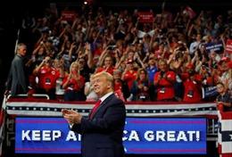 Tổng thống Trump và đảng Cộng hoà nhận hơn 100 triệu USD ủng hộ tái tranh cử