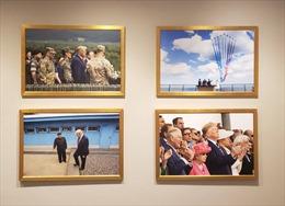 Ảnh Tổng thống Trump và Chủ tịch Triều Tiên treo trang trọng trên tường Nhà Trắng