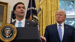 Tân Bộ trưởng Quốc phòng Mỹ đối mặt nhiều trọng trách