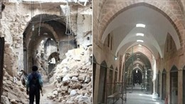 Hình ảnh trước và sau khi thành phố Aleppo được tái thiết