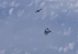 Su-27 đuổi tiêm kích NATO áp sát phi cơ chở Bộ trưởng Quốc phòng Nga