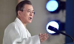 Tổng thống Hàn Quốc cam kết thống nhất Bán đảo Triều Tiên năm 2045