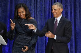 Cựu Tổng thống Mỹ Barack Obama và phu nhân 'dấn thân' vào Hollywood
